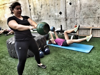Kettlebell and Core Training